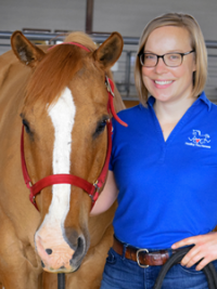 Amy Tripson, PATH Intl. Advanced Instructor, Administrative Associate
