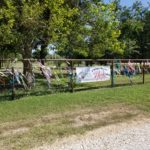 ROCK's Fence of Hope