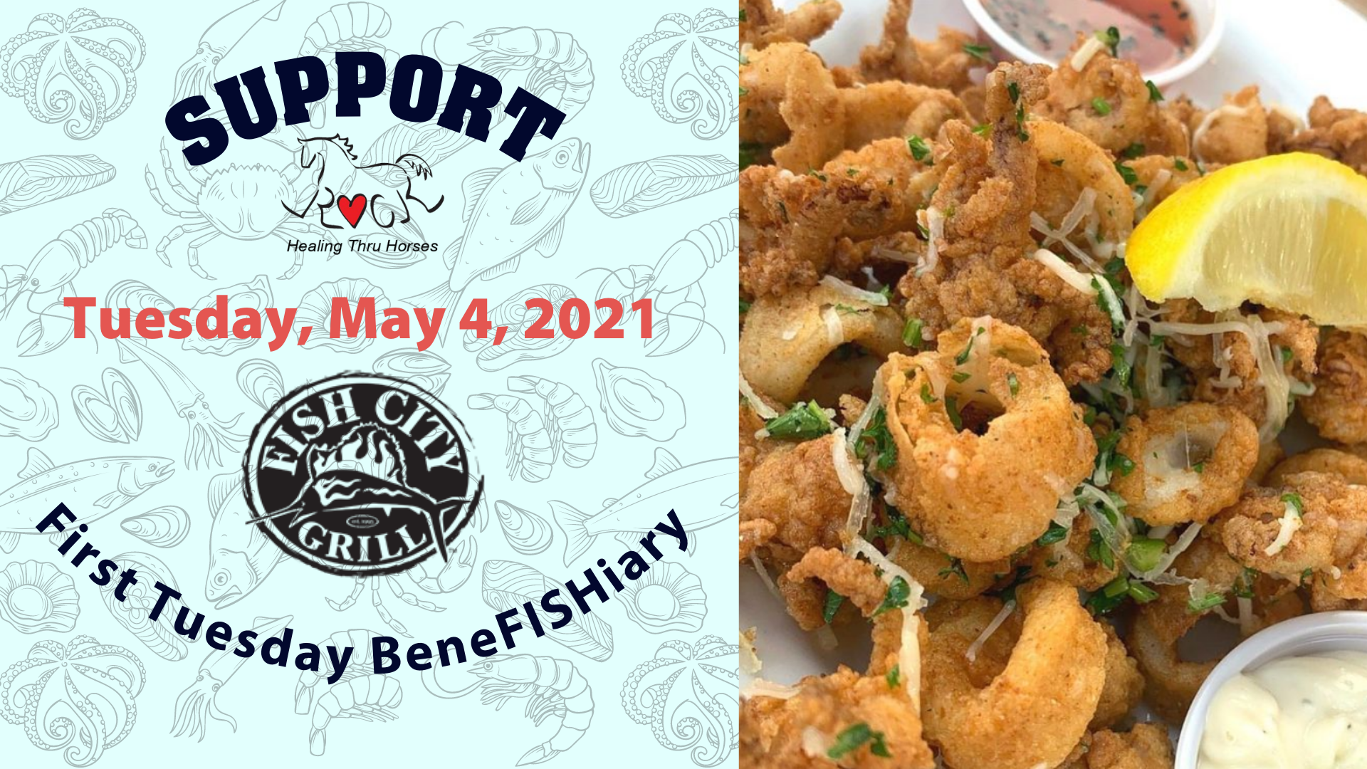 Support ROCK on Tuesday, May 4, 2021 at Fish City Grill