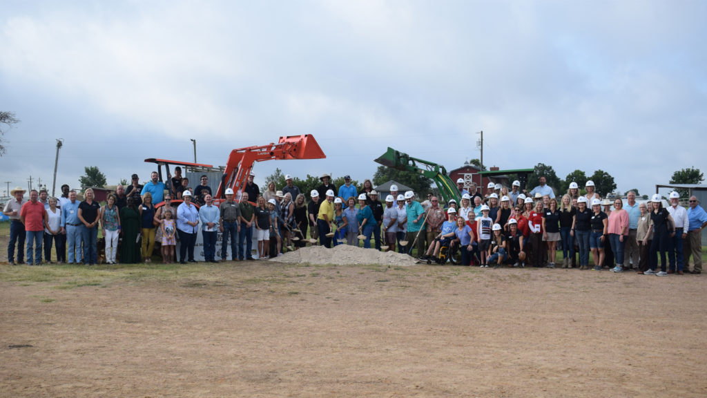 Miracles in the DIrt Groundbreaking ceremony