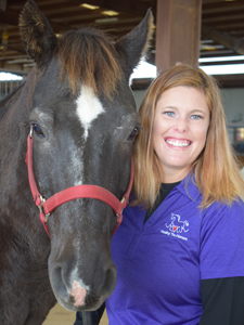 Devon Felts, PATH Intl. Certified Therapeutic Riding Instructor / Equine Assistant