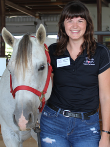 Olivia Coleman, PATH Intl. Certified Therapeutic Riding Instructor / STAR Program Co-Coordinator