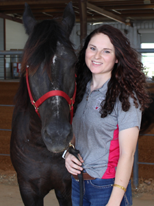 Phoebe Miller, PATH Intl. Certified Therapeutic Riding Instructor