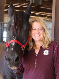 Stephane Troxell, PATH Intl. Certified Therapeutic Riding Instructor